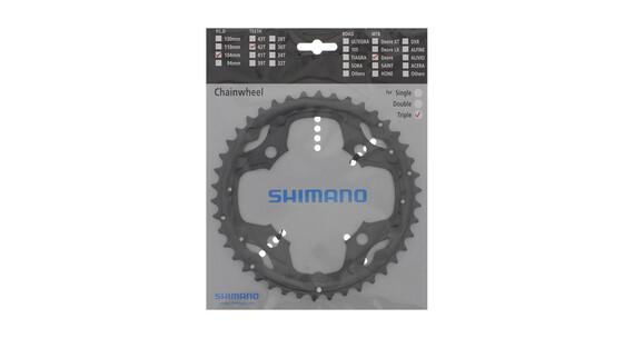 Shimano Deore FC-M590 Kettenblatt 10-fach 42 Zähne grau